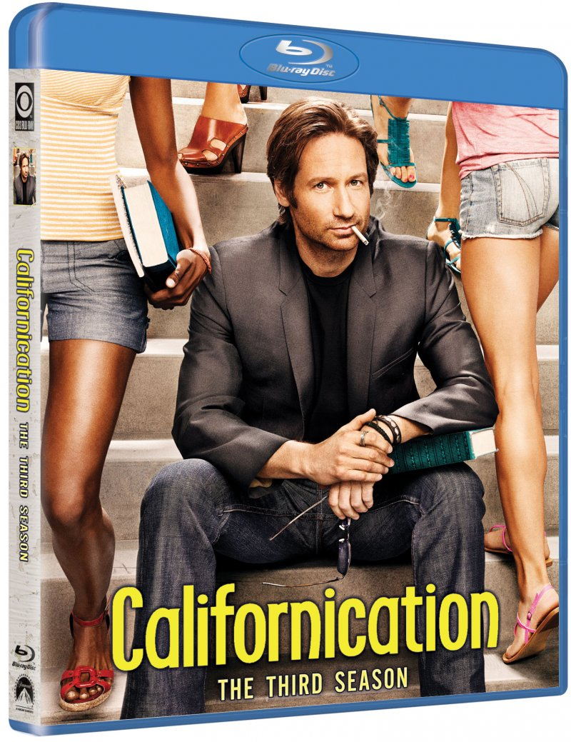 Image of   Californication - Sæson 3 - Blu-Ray - Tv-serie