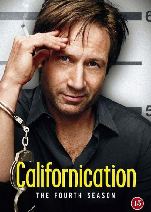 Image of   Californication - Sæson 4 - DVD - Tv-serie