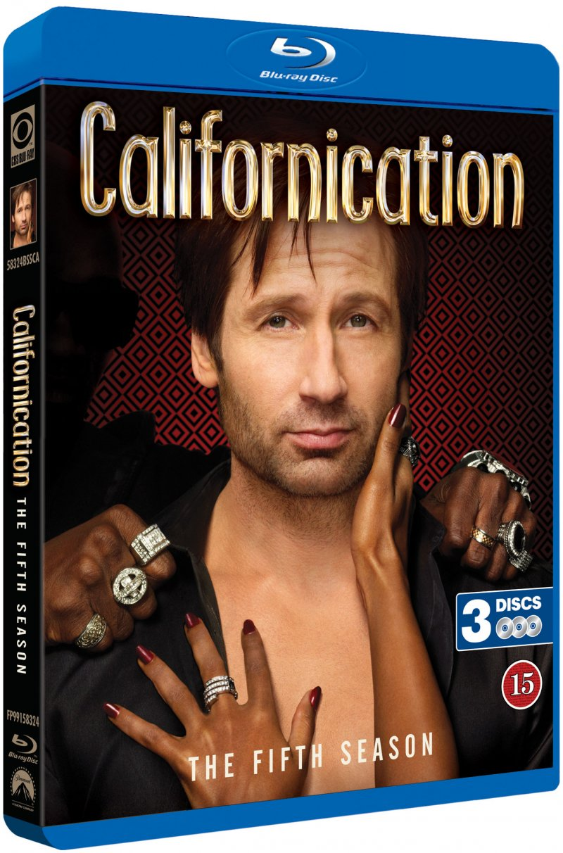 Image of   Californication - Sæson 5 - Blu-Ray - Tv-serie