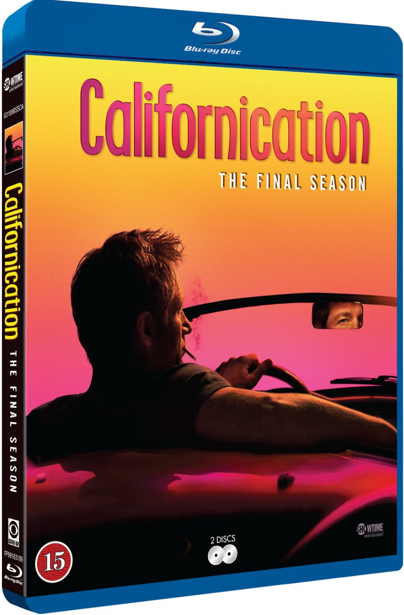Image of   Californication - Sæson 7 - Blu-Ray - Tv-serie