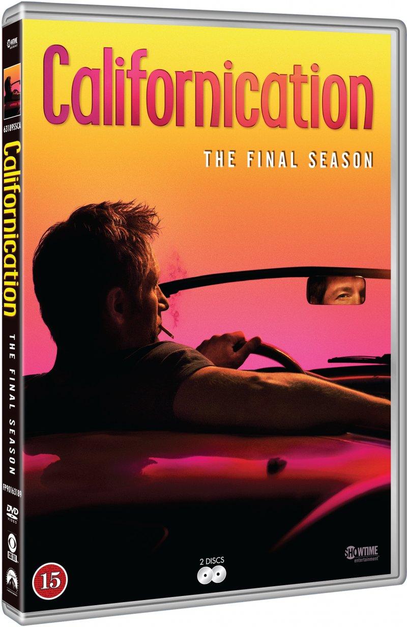 Image of   Californication - Sæson 7 - DVD - Tv-serie