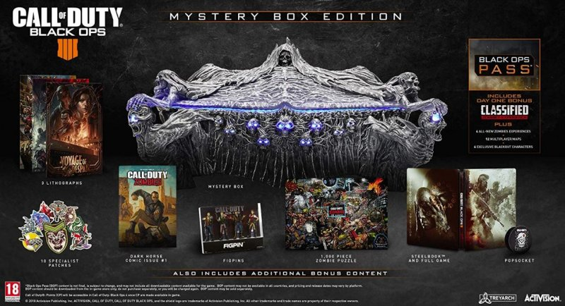 Image of   Call Of Duty: Black Ops 4 - Mystery Box Edition - Xbox One
