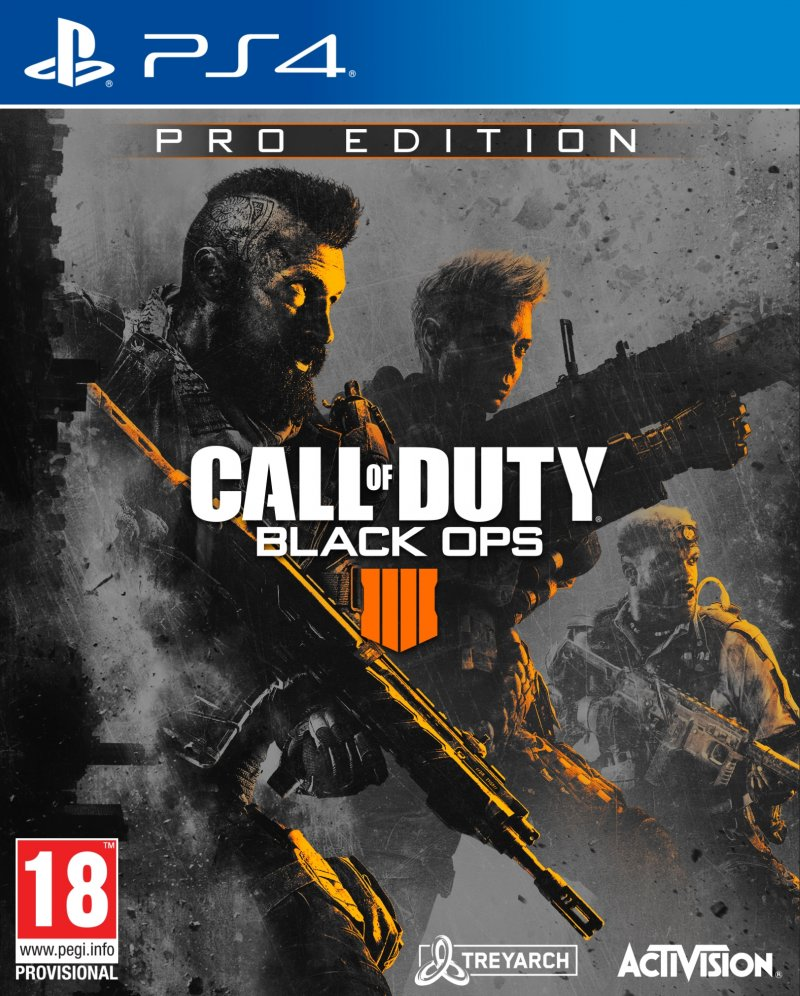 Image of   Call Of Duty: Black Ops 4 Pro Edition - PS4