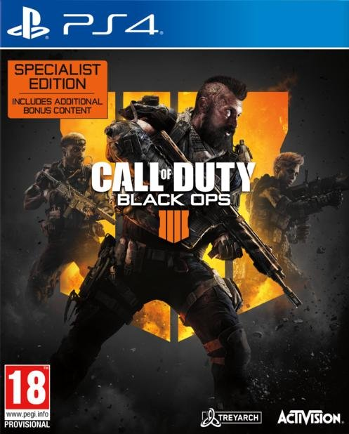 Image of   Call Of Duty: Black Ops 4 Specialist - Uk/arabisk - PS4