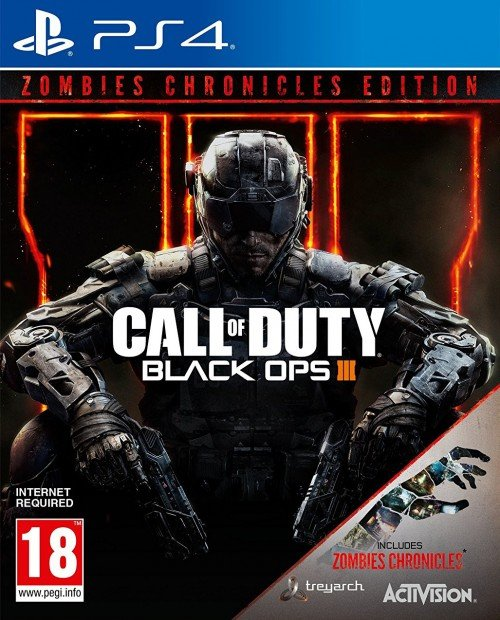 Image of   Call Of Duty: Black Ops Iii (3): Zombies Chronicles - PS4