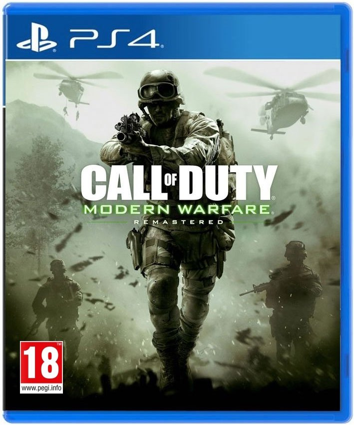 Call Of Duty: Modern Warfare Remastered - PS4