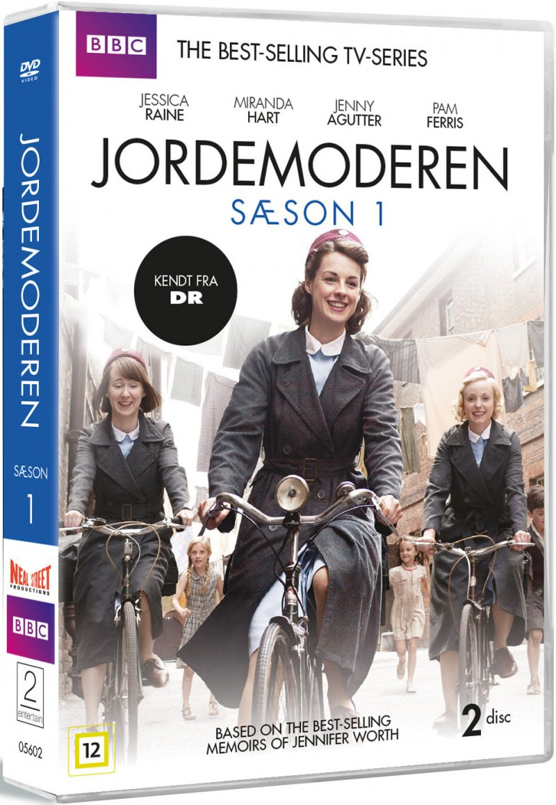Image of   Call The Midwife - Sæson 1 - Bbc - DVD - Tv-serie