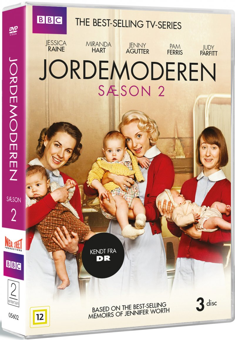 Call The Midwife - Sæson 2 - Bbc - DVD - Tv-serie