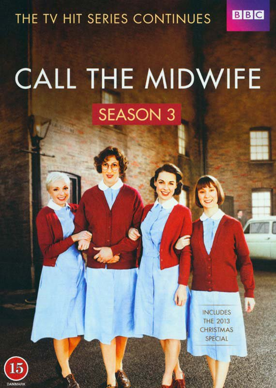 Image of   Call The Midwife - Sæson 3 - Bbc - DVD - Tv-serie