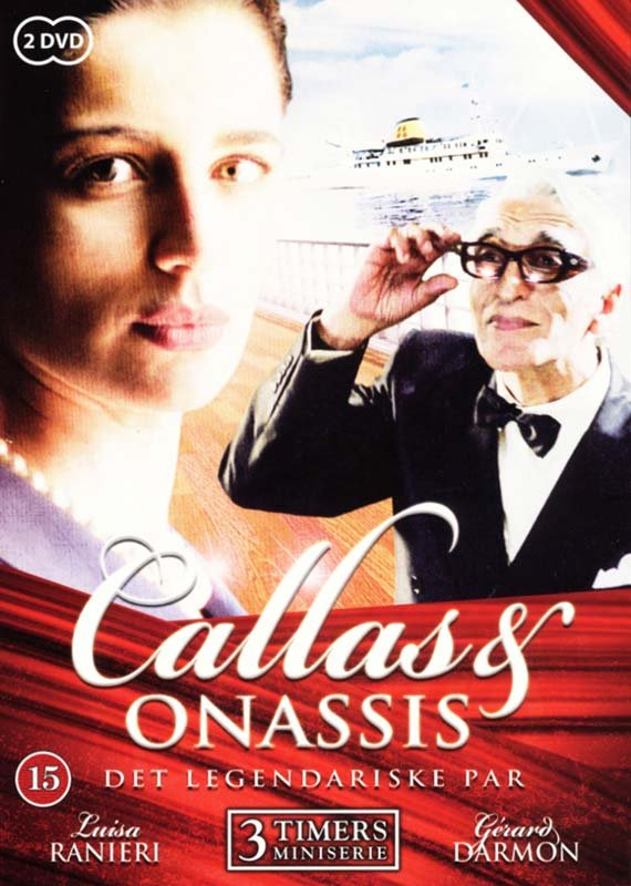 Image of   Callas And Onassis - Det Legendariske Par - DVD - Tv-serie