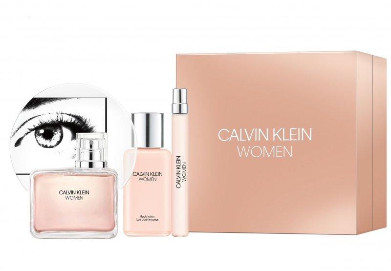Image of   Calvin Klein Parfume - Women Edp 100 Ml + Body Lotion 100 + Edp 10 Ml - Gavesæt