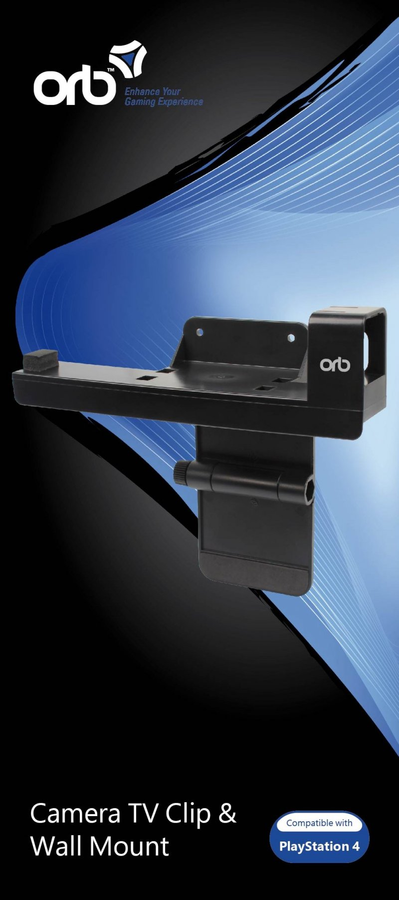 Image of   Orb Camera Tv Clip Wall Mount Ps4