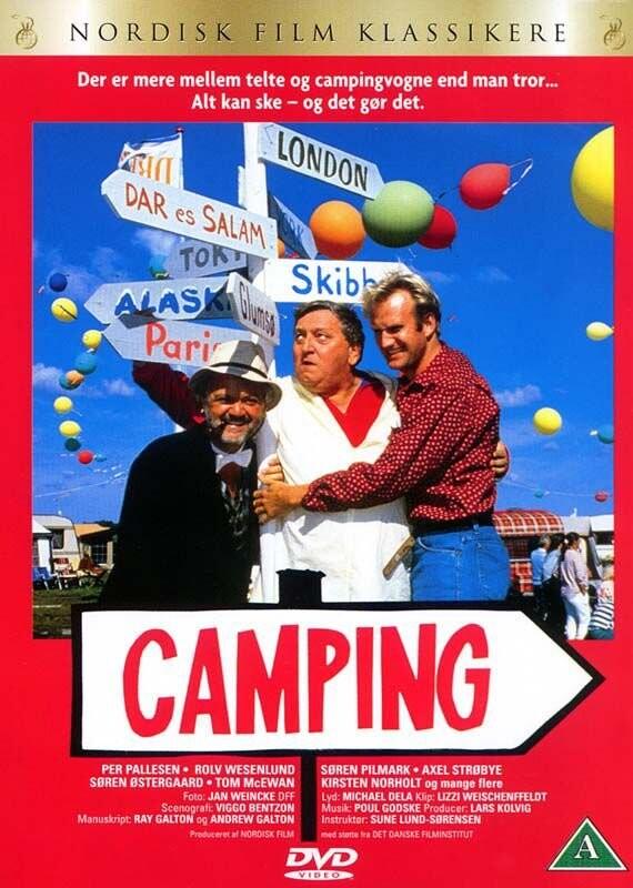 Image of   Camping - Dansk Film - DVD - Film