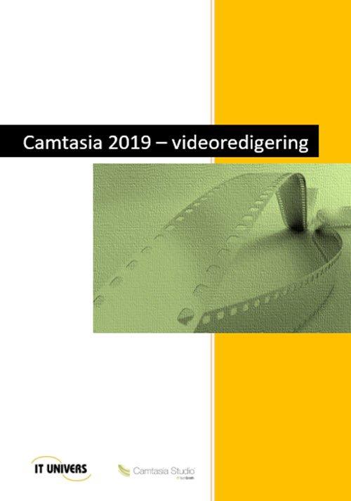 Image of   Camtasia 2019 - Videoredigering - Charlotte Cederstrøm - Bog