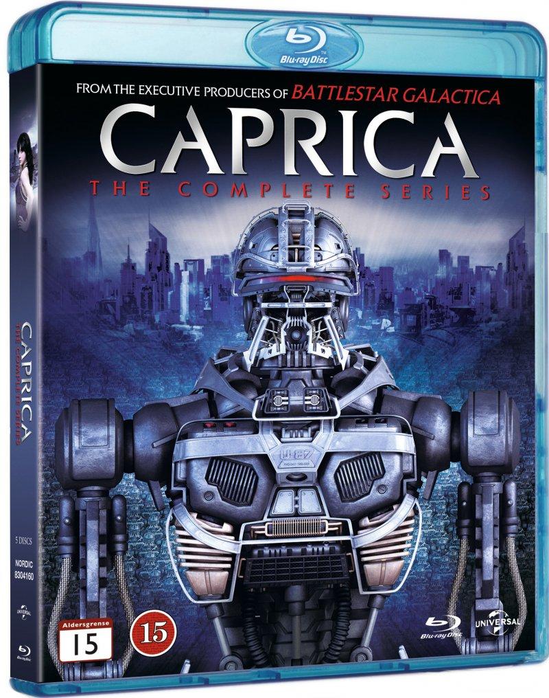 Image of   Caprica - Den Komplette Serie - Blu-Ray - Tv-serie