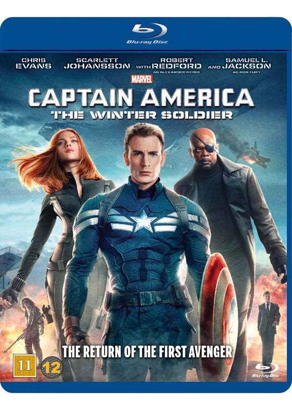Image of   Captain America 2: The Winter Soldier - Blu-Ray