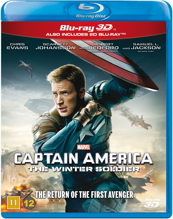Image of   Captain America 2 - The Winter Soldier - 3D Blu-Ray