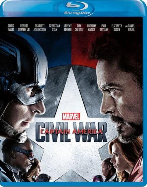 Image of   Captain America 3 - Civil War - Blu-Ray