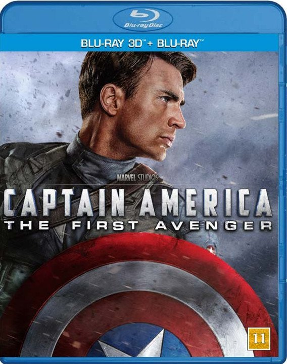 Image of   Captain America - The First Avenger - 3D Blu-Ray