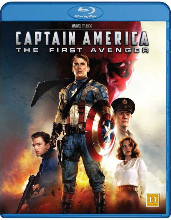 Image of   Captain America - The First Avenger - Blu-Ray