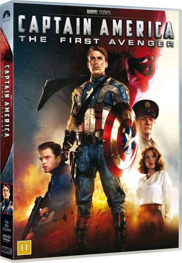 Image of   Captain America - The First Avenger - DVD - Film