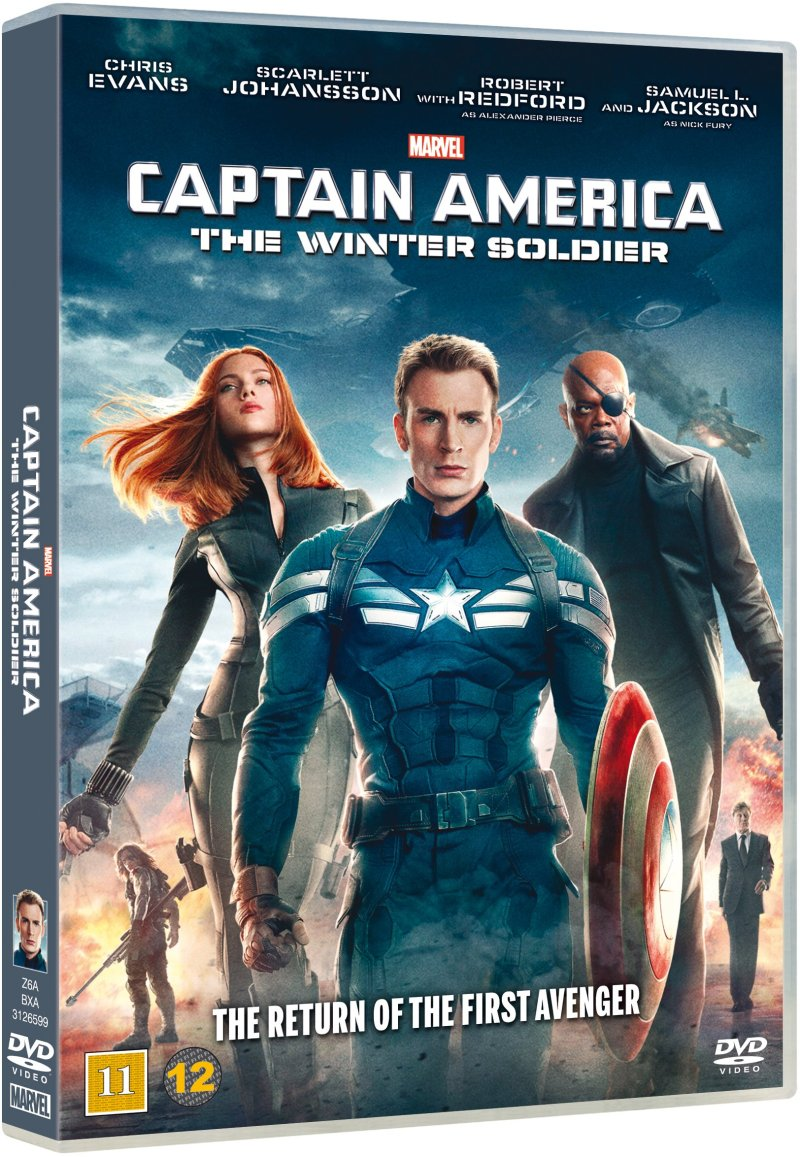 Image of   Captain America 2: The Winter Soldier - DVD - Film