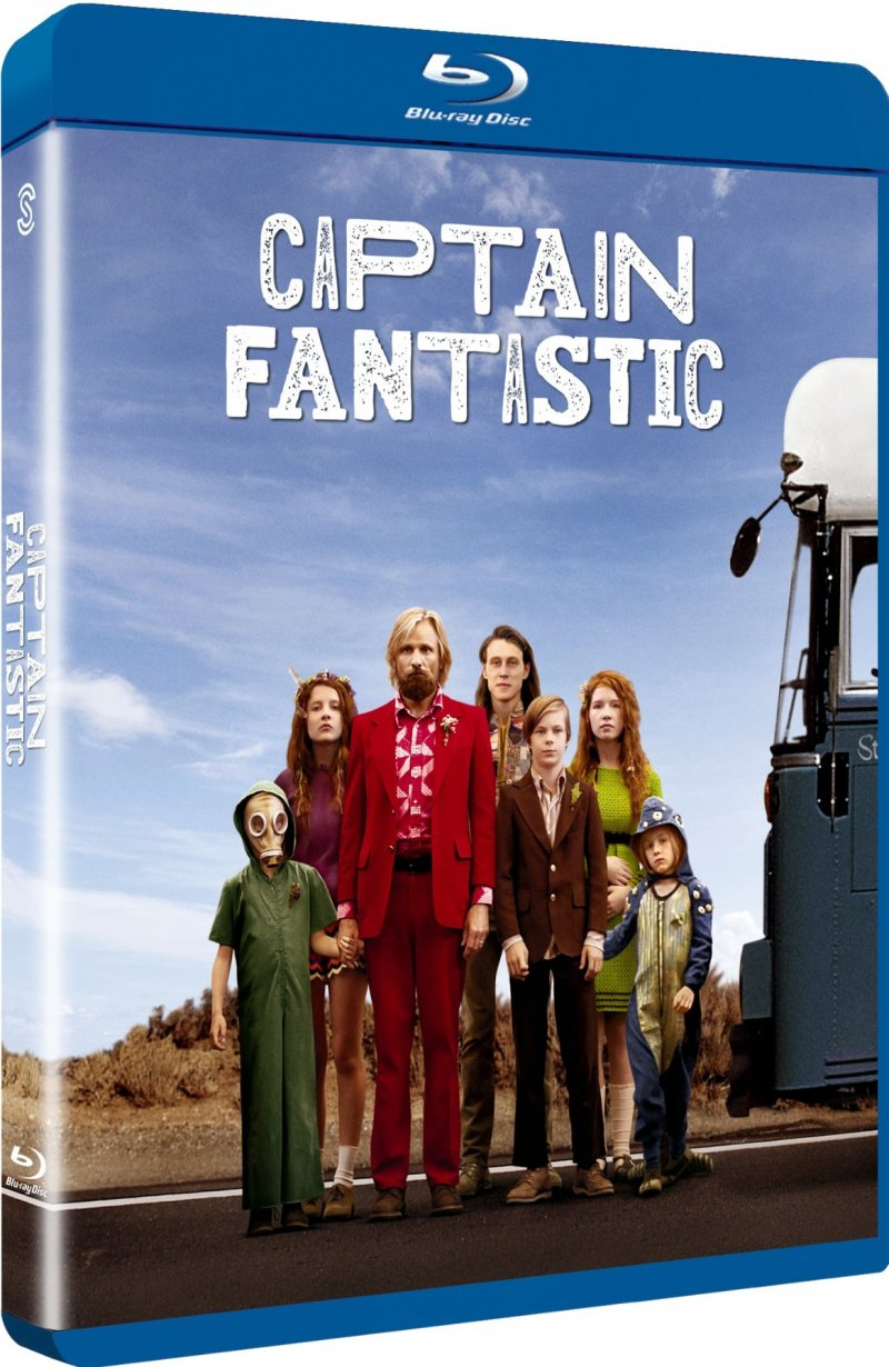 Image of   Captain Fantastic - Blu-Ray