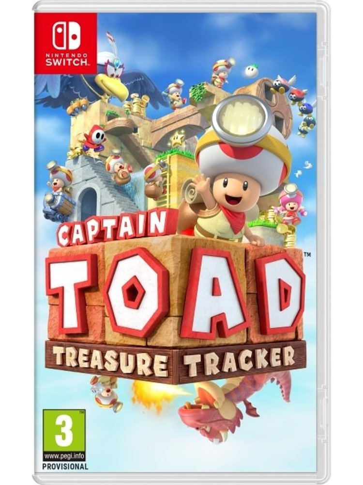 Image of   Captain Toad: Treasure Tracker - Nintendo Switch