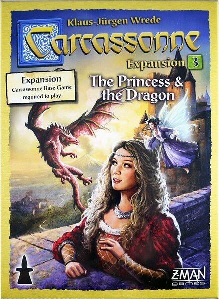 Carcassonne: The Princess & The Dragon - Nordic - Brætspil