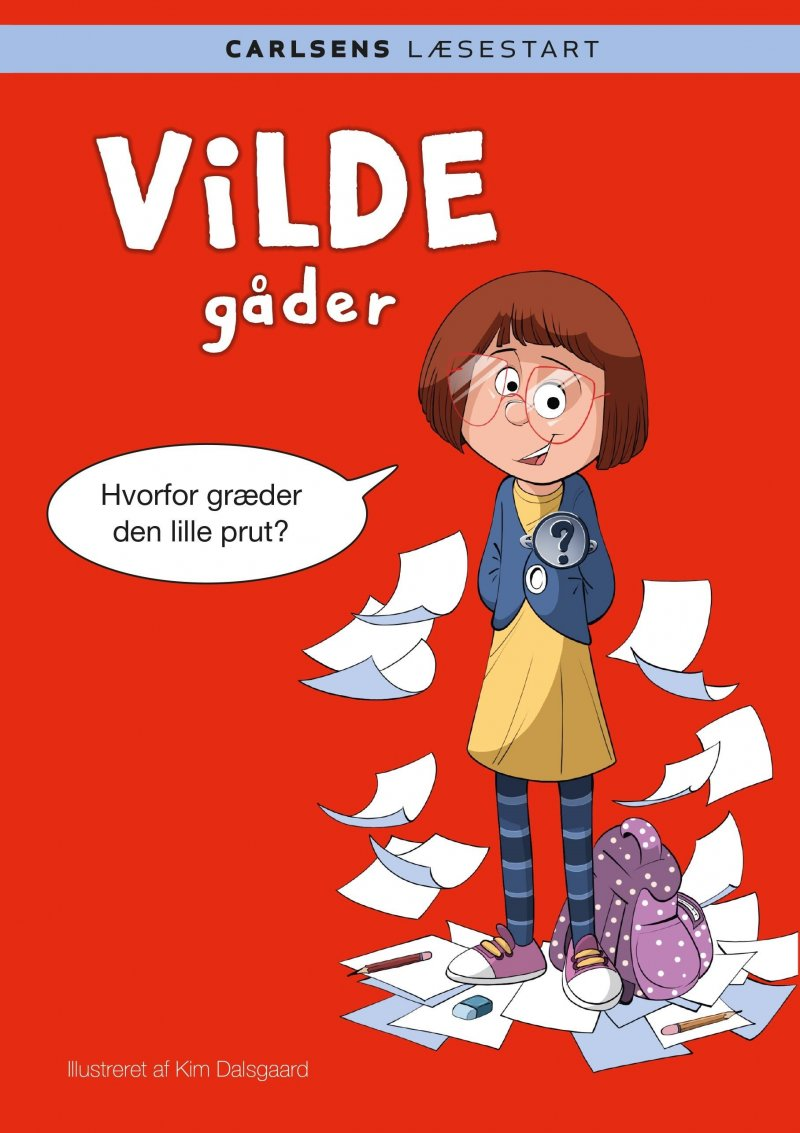 Image of   Carlsens Læsestart: Vilde Gåder - Kim Dalsgaard - Bog