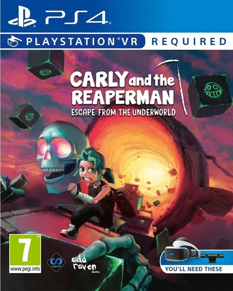Image of   Carly And The Reaper Man Vr - PS4