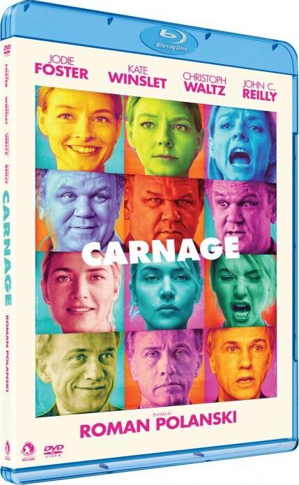 Image of   Carnage - Blu-Ray