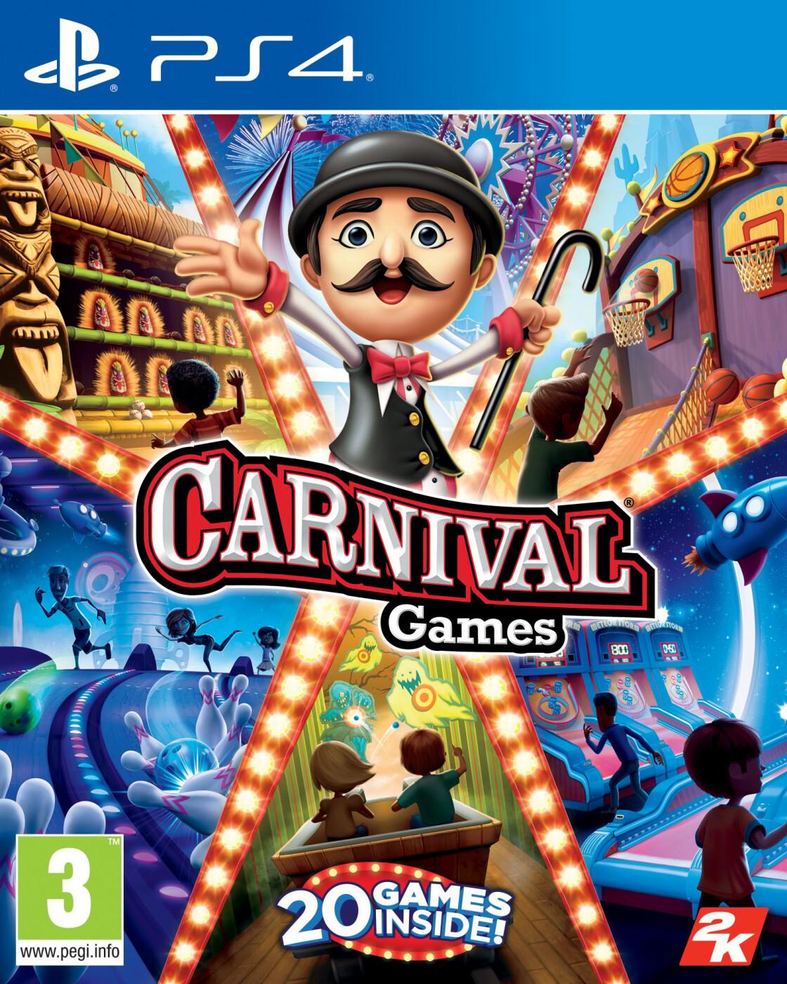 Frisk Carnival Games ps4 → Køb billigt her DN-55
