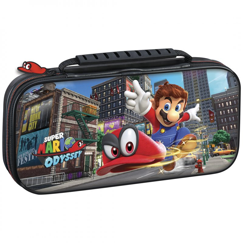 Image of   Nintendo Switch Case Inkl. Skærmbeskyttelse - Super Mario
