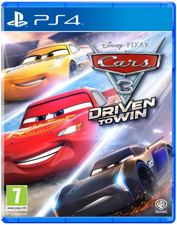 Rask Cars 3: Driven To Win ps4 → Køb billigt her TI-67