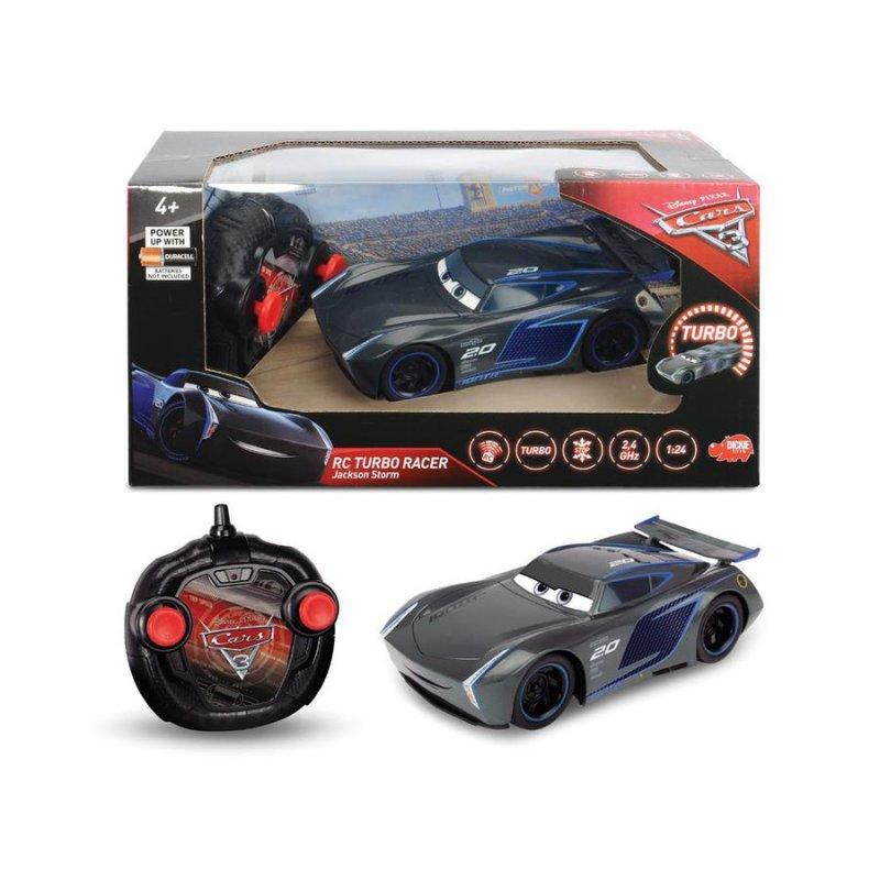 Disney Biler / Cars Fjernstyret Bil Jackson Storm Turbo