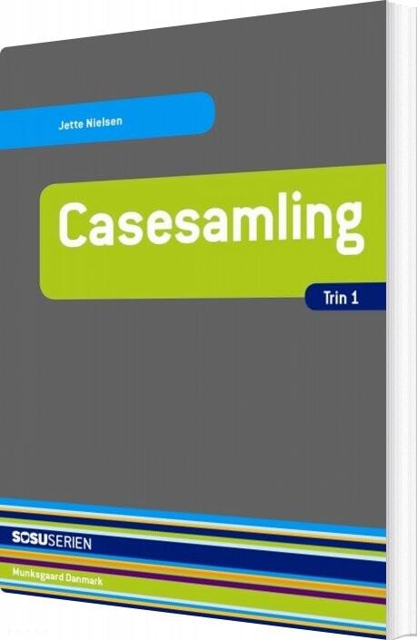 Image of   Casesamling - Trin 1 - Jette Nielsen - Bog