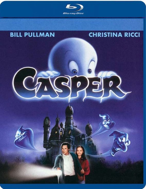 Billede af Casper Det Venlige Spøgelse - Blu-Ray