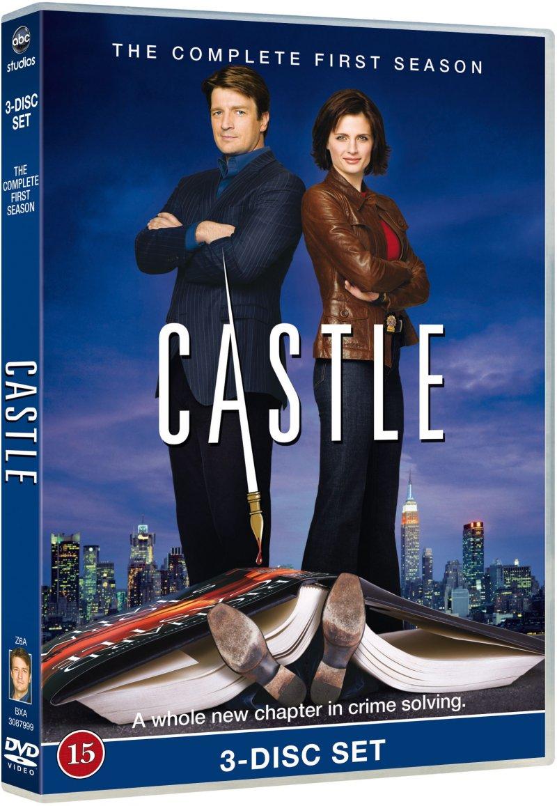 Image of   Castle - Sæson 1 - DVD - Tv-serie
