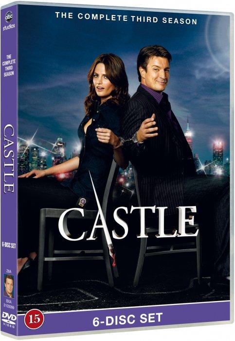 Image of   Castle - Sæson 3 - DVD - Tv-serie