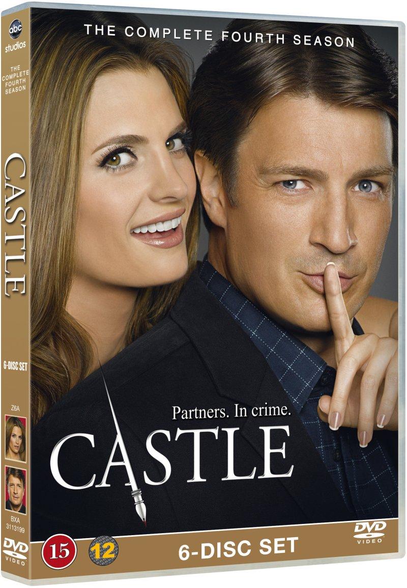 Image of   Castle - Sæson 4 - DVD - Tv-serie