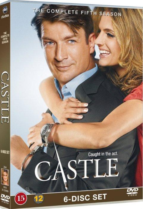 Image of   Castle - Sæson 5 - DVD - Tv-serie