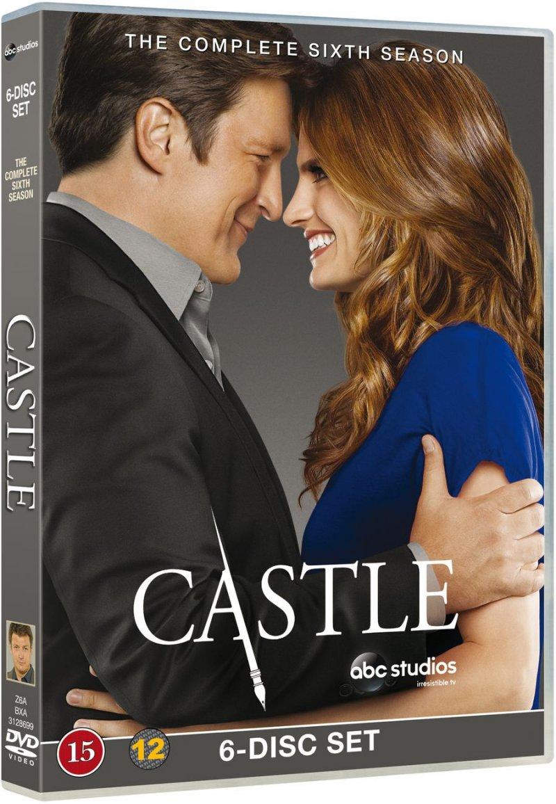 Image of   Castle - Sæson 6 - DVD - Tv-serie