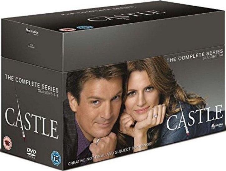 Image of   Castle: Season 1-8 Complete - DVD - Tv-serie