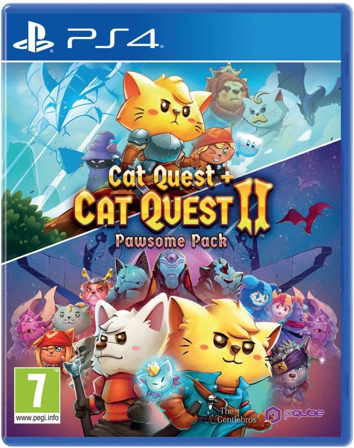 Image of   Cat Quest + Cat Quest Ii: Pawsome Pack - PS4