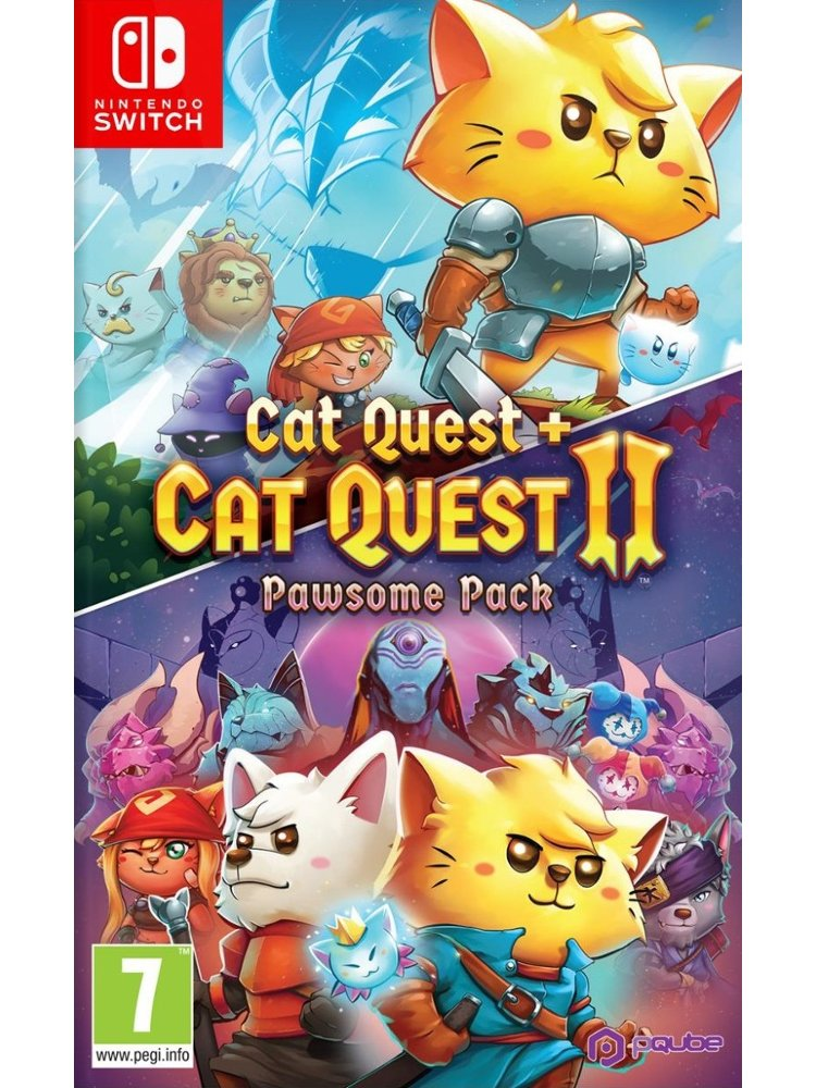 Image of   Cat Quest + Cat Quest Ii: Pawsome Pack - Nintendo Switch