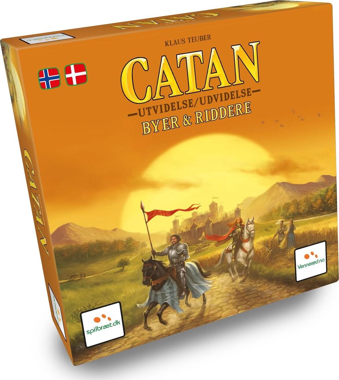Catan: Byer Og Riddere - Udvidelse - Brætspil - Dk/no