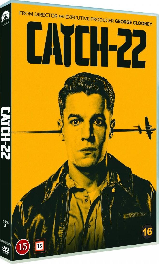 Image of   Catch-22 - DVD - Tv-serie