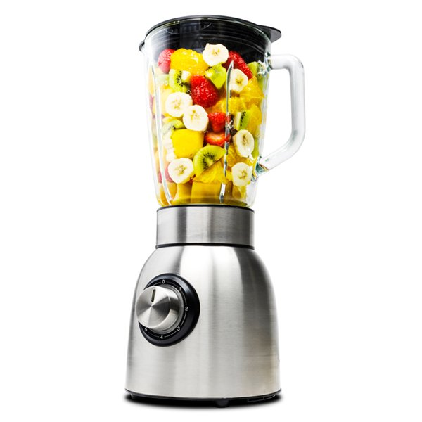 Image of   Cecotec Blender - Power Titanium 1250w 1,8 L - Sølv