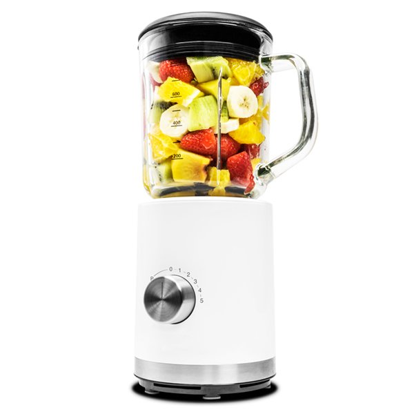 Image of   Cecotec Blender - Power Titanium 850w 1 L - Hvid Sort